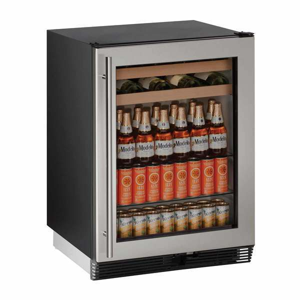 "24"" Stainless Beverage Center"
