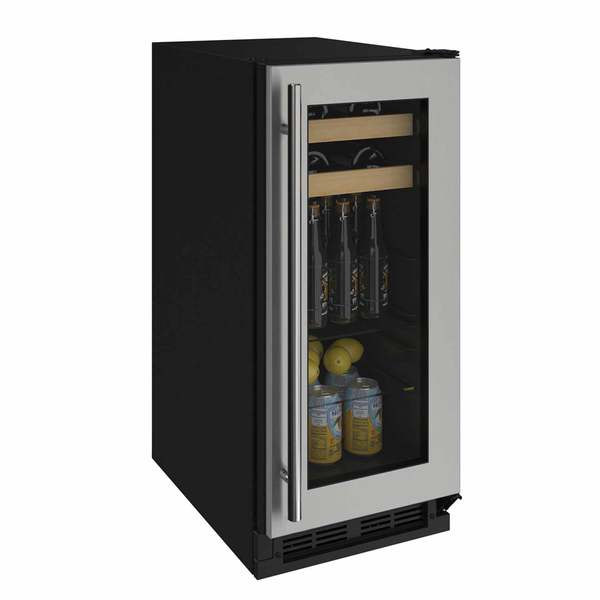 "15"" Stainless Beverage Center"