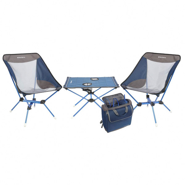 4-Piece Ultra Light Picnic Chair and Table Set