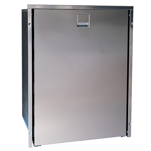 Cruise 130 Clean Touch Refrigerator, Stainless Steel