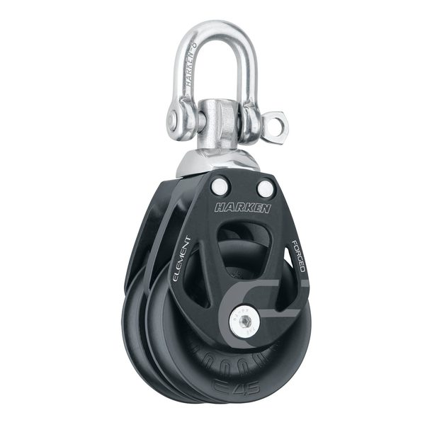 45 mm Element Double Block with Swivel/Locking Shackle