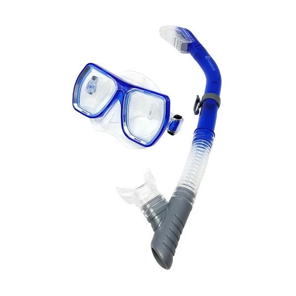 MONTEREY Adult Dry Mask Snorkel Combo