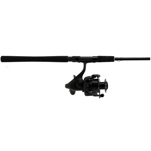 7' Custom Black Inshore Baitfeeder Spinning Combo, Medium/Heavy Power