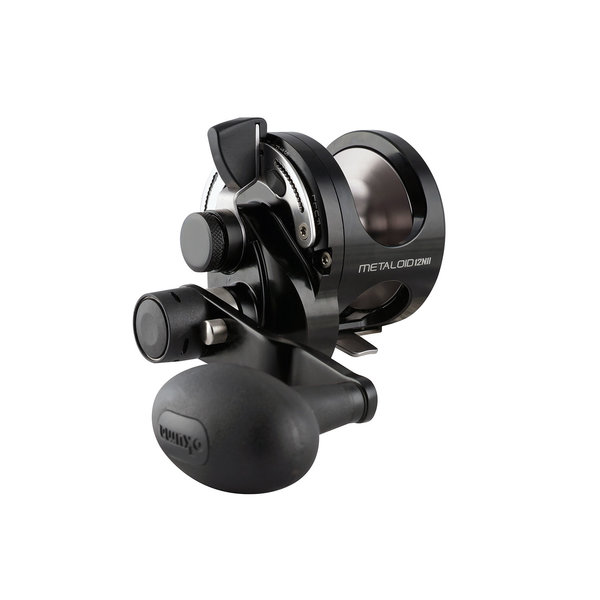 Metaloid M-12NII Two-Speed Lever Drag Conventional Reel
