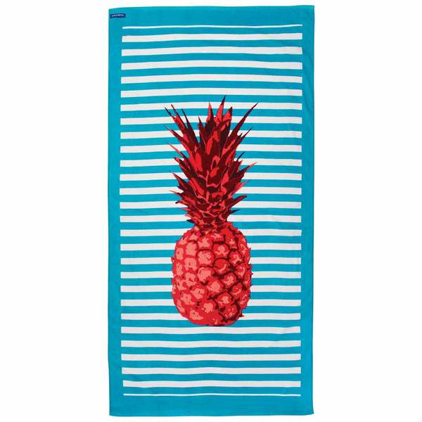 Pineapple Stripe Cotton Towel