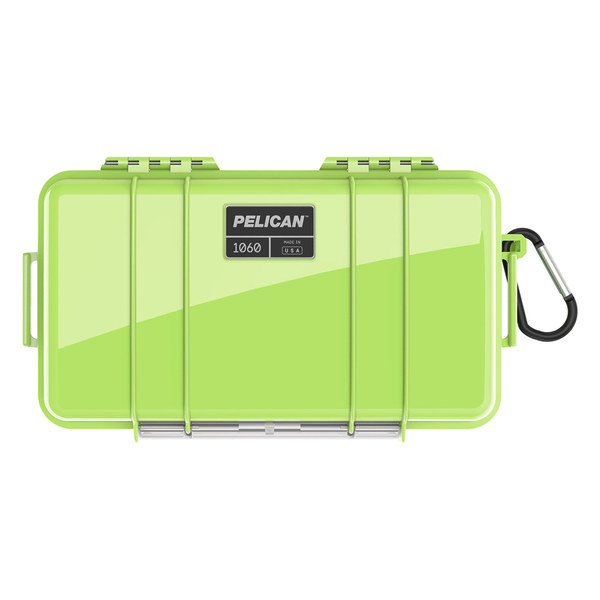 1060 Waterproof Micro Case, Bright Green