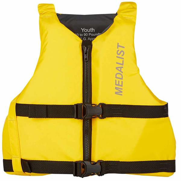 Sail Medalist Life Jacket, Youth, 50-90lb.