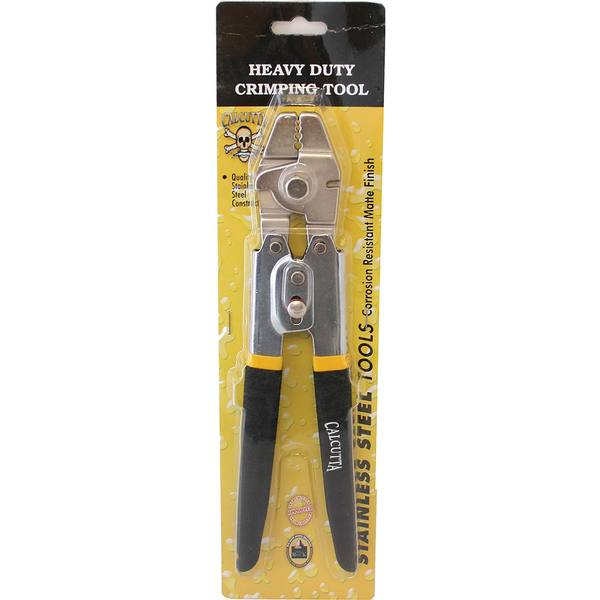 4 Position Crimping Tool with Side Cutter