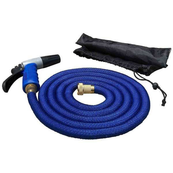 25' Expandable Hose Kit with Nozzle & Storage Bag