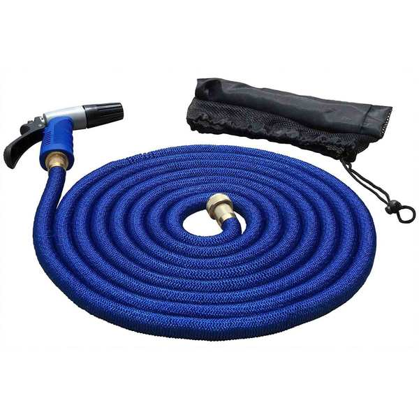 50' Expandable Hose Kit with Nozzle & Storage Bag