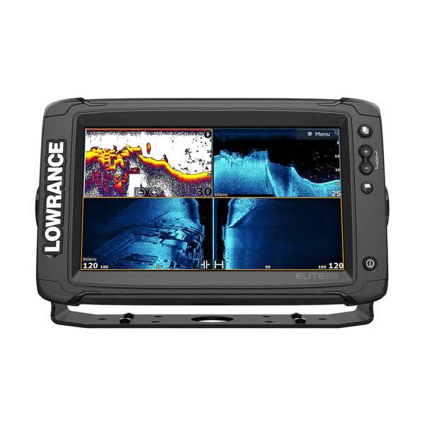 Elite-9 Ti² Fishfinder/Chartplotter Combo with Active Imaging 3-in-1 Transducer and US/Can Navionics+ Card
