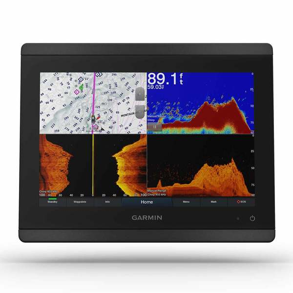 GPSMAP 8610xsv Multifunction Display with Sonar and BlueChart G3 and LakeVu G3 Charts