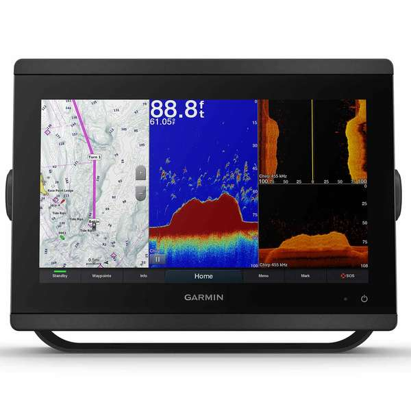 GPSMAP 8612xsv Multifunction Display with Sonar and BlueChart G3 and LakeVu G3 Charts