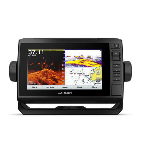 ECHOMAP Plus g3 74cv Fishfinder/Chartplotter Combo with GT23 Transducer and US Coastal g3 Charts