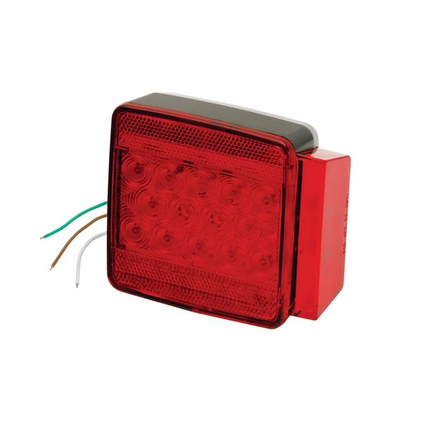 6-Function LED Submersible Combination Taillight, Right/Curbside, for Trailers Under 80""