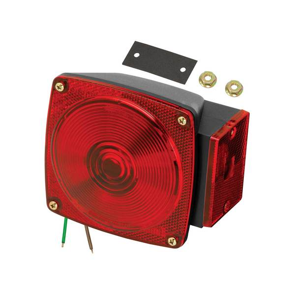 6-Function Submersible Taillight, Right/Curbside, for Trailers Less than 80""