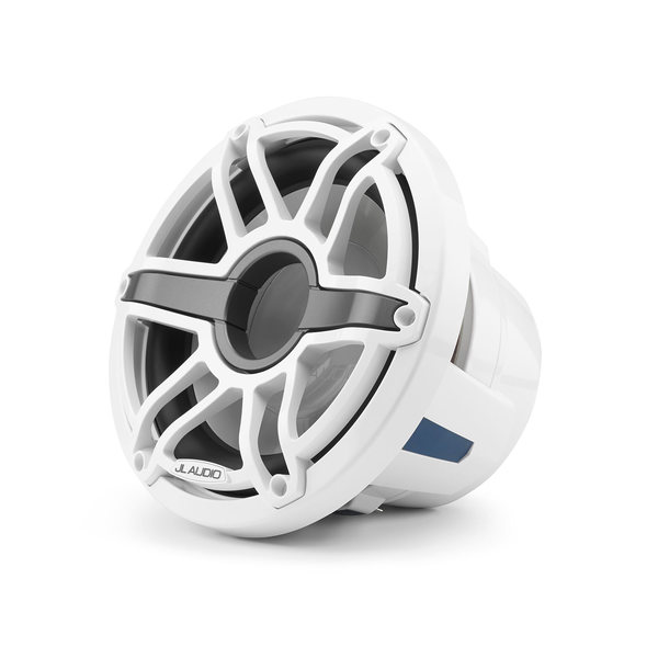 "M6-10IB-S-GwGw-4 10"" Marine Subwoofer Driver, White Sport Grille"