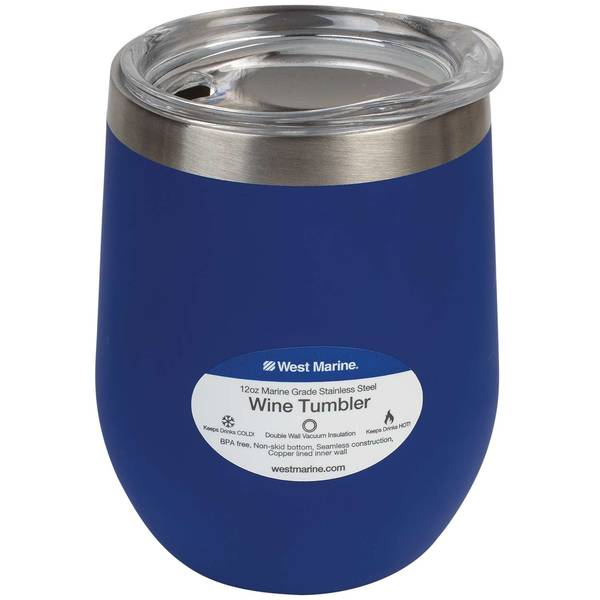 12 oz. Insulated Wine Tumbler
