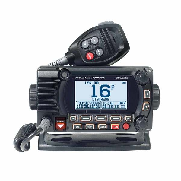 GX1850GB Explorer 25W Fixed Mount VHF/GPS/NMEA2000/Second Station Capable