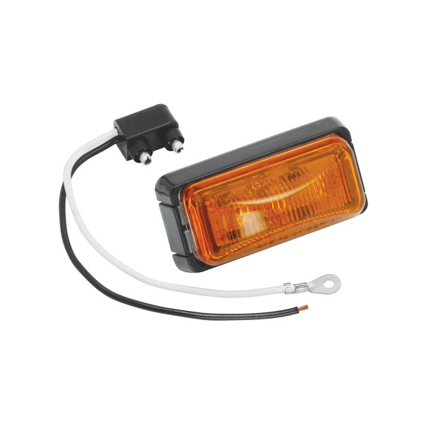 Light Bar Amber with Black Base
