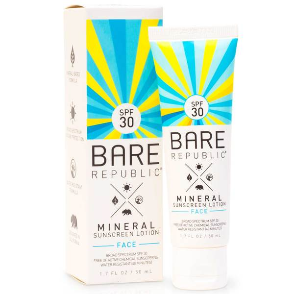 Mineral SPF 30 Face Sunscreen Lotion, 1.7oz.