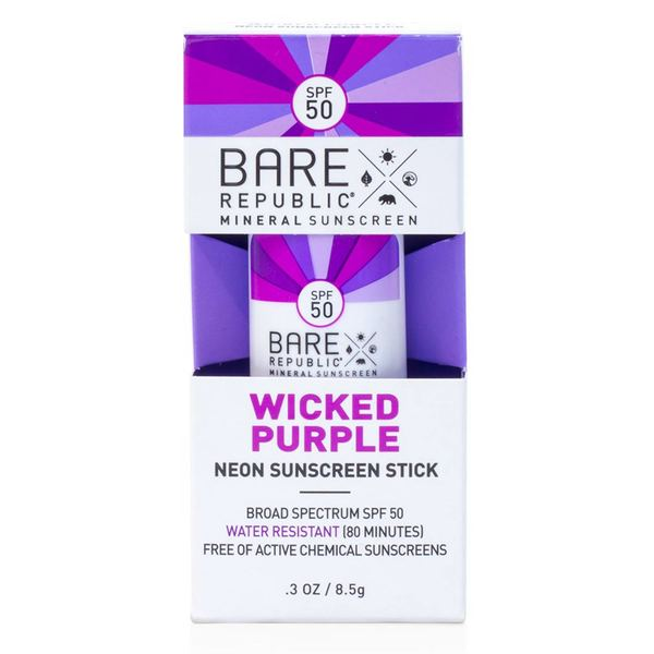 Mineral SPF 50 Neon Wicked Purple Color Stick, .3oz.