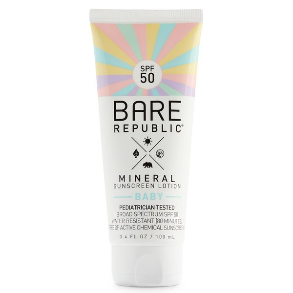 SPF50 Mineral Baby Sunscreen Lotion