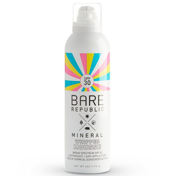SPF30 Mineral Sunscreen Mousse