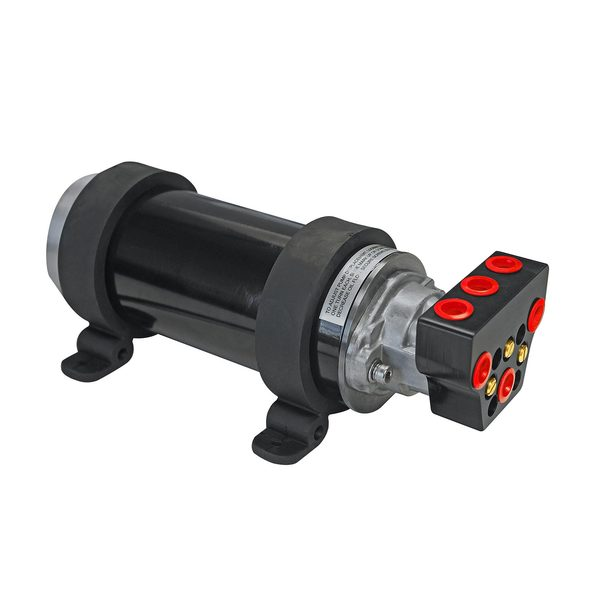 12V Reversing Hydraulic Adjustable Piston Pump for 15 to 30 Cubic Inch Cylinders