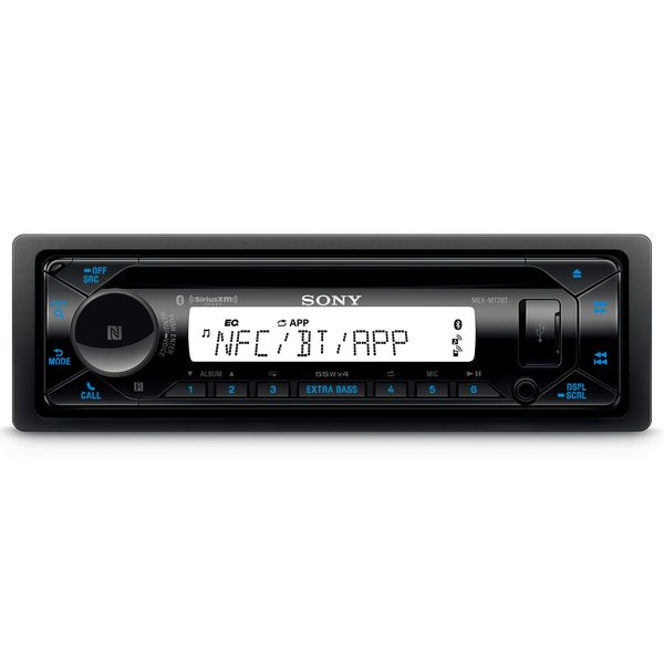 MEX-M72BT Marine CD Receiver with Bluetooth®