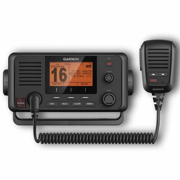 VHF 215 Fixed-mount 25-Watt VHF Radio with Plug-and-Play NMEA 2000® Network Installation