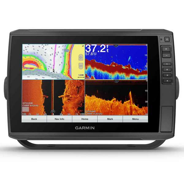 ECHOMAP Ultra 106sv Fishfinder/Chartplotter Combo with GT52HW-TM Transducer and BlueChart G3 US Coastal and Inland Charts