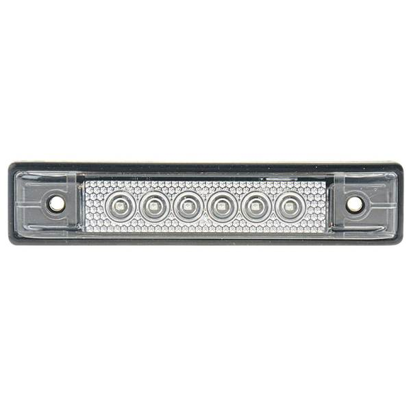"4"" LED Utility Strip Light with Gasket, Red"