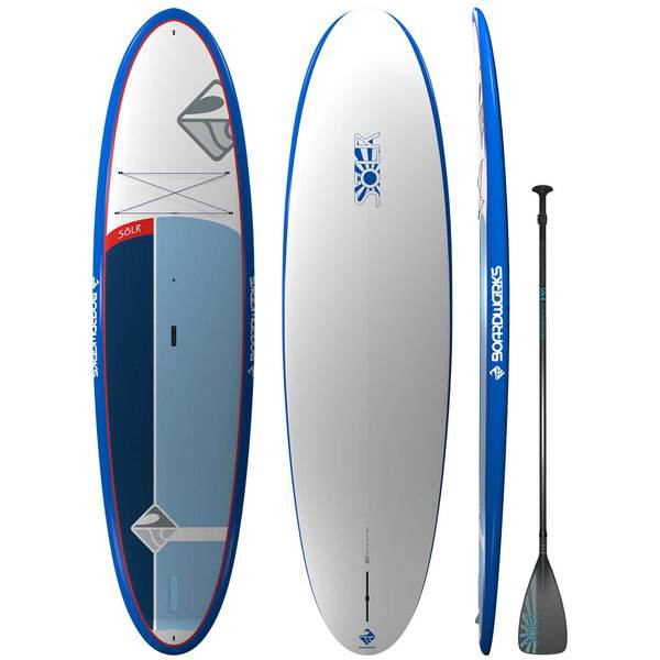 "10'6"" SOLR Stand-Up Paddleboard with Paddle"