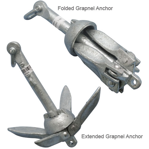 Folding Grapnel Anchors
