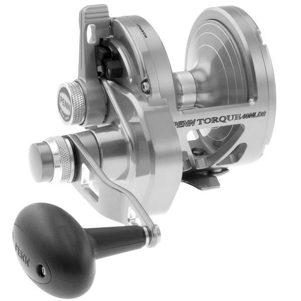 Torque® 40S 2-Speed Lever Drag Conventional Reel
