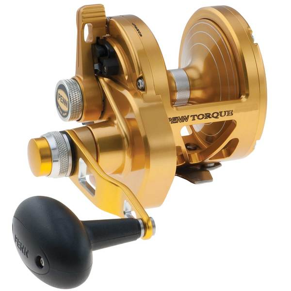Torque® 60 2-Speed Lever Drag Conventional Reel