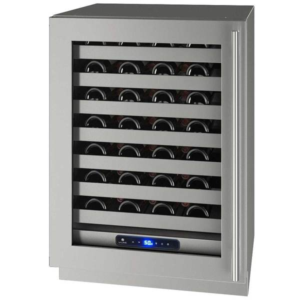 "24"" 5 Class Stainless Wine Captain with Lock, Left Hinged"