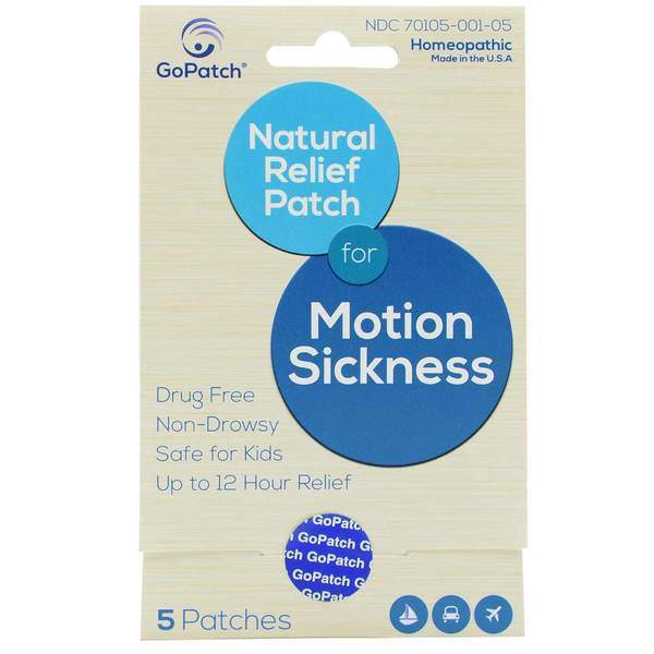 Natural Relief Motion Sickness Patch