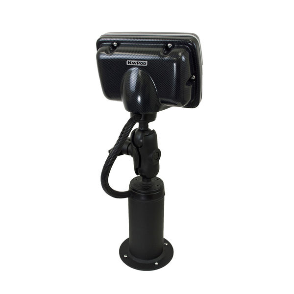 PedestalPod with RAM Mount Pre-Cut for Lowrance Elite-7 Ti and Ti2  Fishfinder/Chartplotter (Carbon Series)