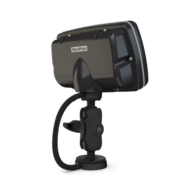 PowerPod with RAM Mount Pre-Cut for Lowrance HDS-9 LIVE (Carbon Series)