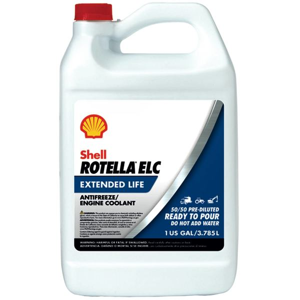 Rotella® ELC Pre-Diluted Antifreeze/Coolant, Gallon
