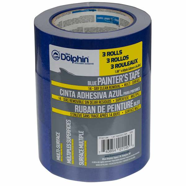 "2"" Blue Painter's Tape, 3-Pack"