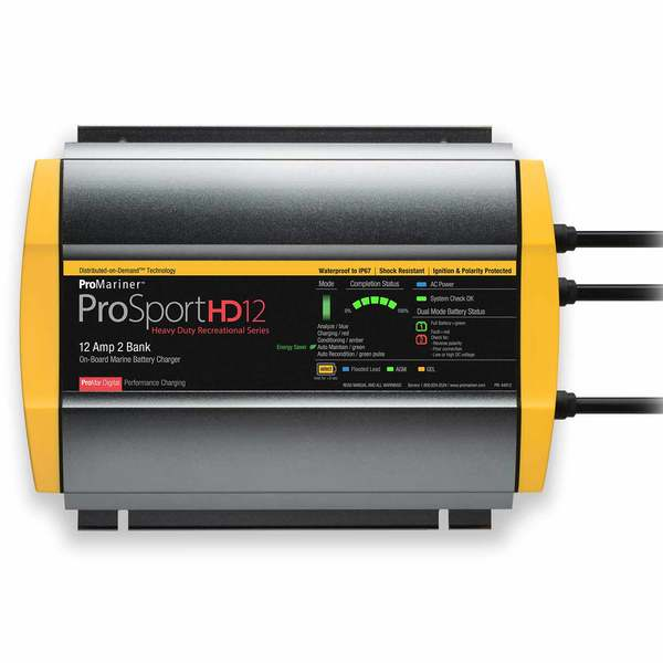 ProSport 12 Heavy-Duty Marine Battery Charger