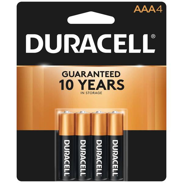 "Coppertop ""AAA"" Batteries, 4-Pack"