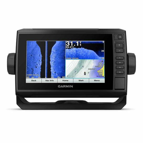 echoMAP UHD 73sv Chartplotter/Fishfinder Combo with GT54 Transducer and US LakeVu G3 Charts