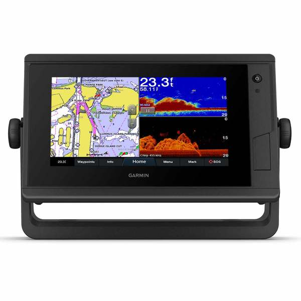 GPSMAP 742xs Plus Multifunction Display with Built In Sonar and G3 Coastal and Inland Charts