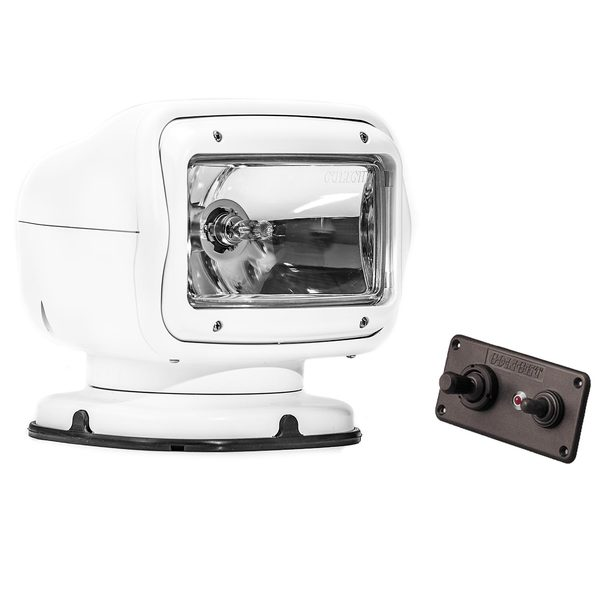 Golight® GT Series Halogen Permanent Mount Searchlight with Hardwired Dash Mount Remote