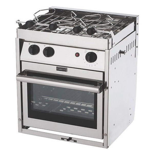 FORCE 10 2-Burner Gas Stove Gimbal Galley