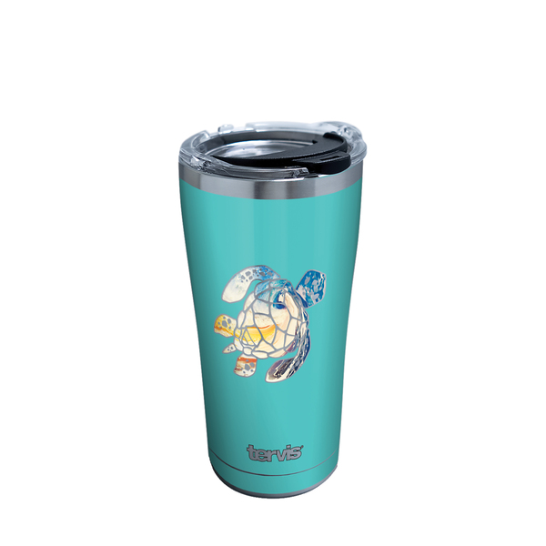 30 oz. Turtle Sunset Tumbler with Lid